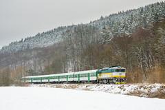 754.023-0 ČD, Os 14951, Borač – Štěpánovice