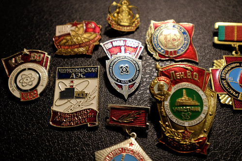 """A collection of Chernobyl medals • <a style=""""font-size:0.8em;"""" href=""""http://www.flickr.com/photos/148075881@N07/32781592566/"""" target=""""_blank"""">View on Flickr</a>"""