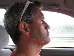Zoned out driver Jon (maineeileen) Tags: road trip family wareham