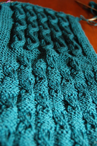 Cable Sampler Scarf