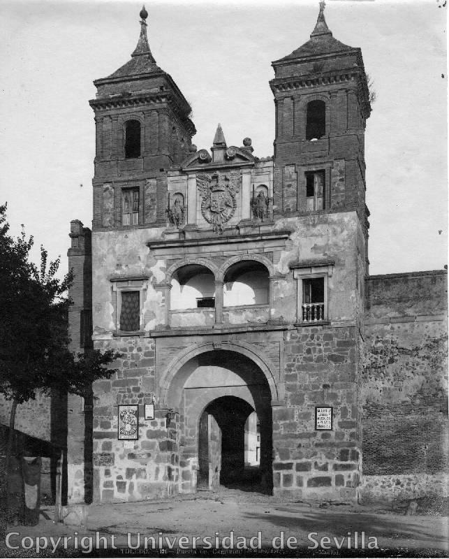 Puerta del Cambrón a principios del siglo XX. Foto M. Moreno. Fototeca Universidad de Sevilla