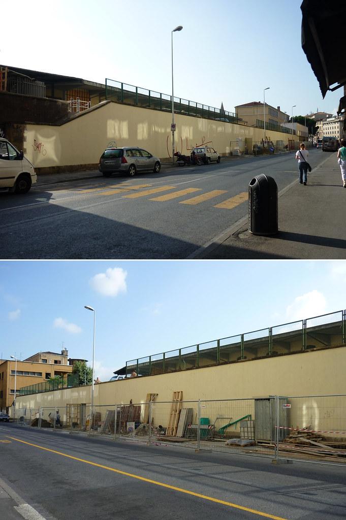 Firenze SMNovella, stazione di Michelucci