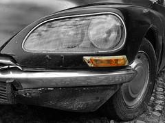 P1060984fx (www.darnoc.fr) Tags: citroen ds voiture panasonic abandon citroends voitureancienne fz28
