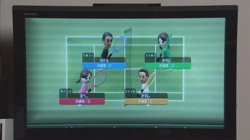 左上角... Wii Sport 的阿部寬XD
