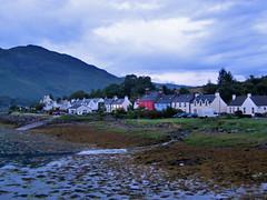 View of Dornie, Scotland, at twilight (Paul McClure DC) Tags: scotland highlands scenery britain lochalsh dornie july2009