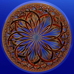 A Circle of Time (freetoglow (Gloria)) Tags: fractal visualart artcafe incendia eyecandyart photoartwork sharingart