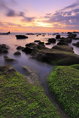 So far away, but yet so near (tropicaLiving - Jessy Eykendorp) Tags: longexposure light sunset sea sky bali seascape seaweed beach nature water silhouette clouds indonesia landscape coast rocks shoreline tanahlot canggu efs1022mmf3545usm outdoorphotography canoneos50d tropicaliving hitechfilters mengeningbeach rawproccessedwithdigitalphotopro tiffproccessedwithadobephotoshopcs3 sofarawaybutyetsonear