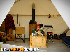 Ready To Settle In (Jessica Winkworth Photography) Tags: camping camp toronto zoo tent membersonly torontozoo campinggear campingequipment membersevent tundratrek ontariosubarcticcoastresearchcamp tundratrekexhibit tundratrekexhibitpreview
