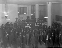 Employment office, 1916