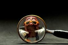California Raisin (ricko) Tags: toy shades magnifyingglass californiaraisin