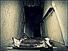 The_Grange (Steven Eric Parker) Tags: fire route66 derelict apocalypsefriday ayoungerbravermewouldveclimbedthestairs anoldermorenervousmedidnot