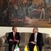 Encuentro Privado del señor Presidente de los Estados Unidos Mexicanos y su señora esposa con el señor Samuel Moreno Rojas, Alcalde de Bogotá y su señora esposa (13/08/09)