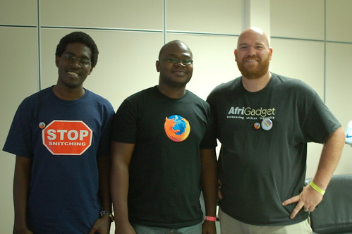 A picture with the Mozilla guys