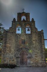 Mission Espada (Soul_Smiling) Tags: park san texas pentax spanish national antonio missions hdr
