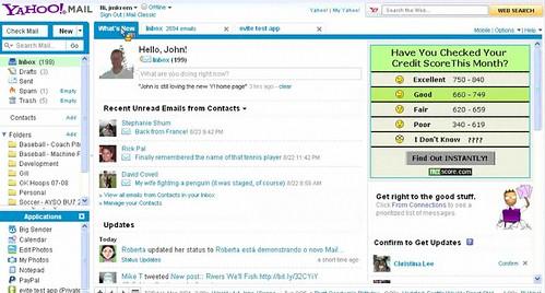 Yahoo Mail (Status Casting)