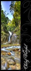 Welcome to Chiling Waterfall (AnNamir c[_]) Tags: canon waterfall kitlens malaysia hdr sanctuary chiling 500d pertak photomalaysiacom huluselangor vertorama chilingwaterfall ikankelah chillingwaterfall annamir buyie puteracom peretak sahabatsejati getokubicom iluvislamcom digitalmukmincom airterjunchiling