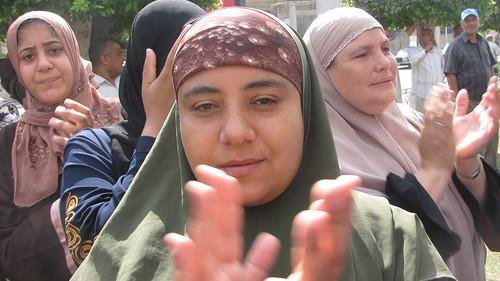 مظاهرة عمال طنطا للكتان والزيوت  by you.