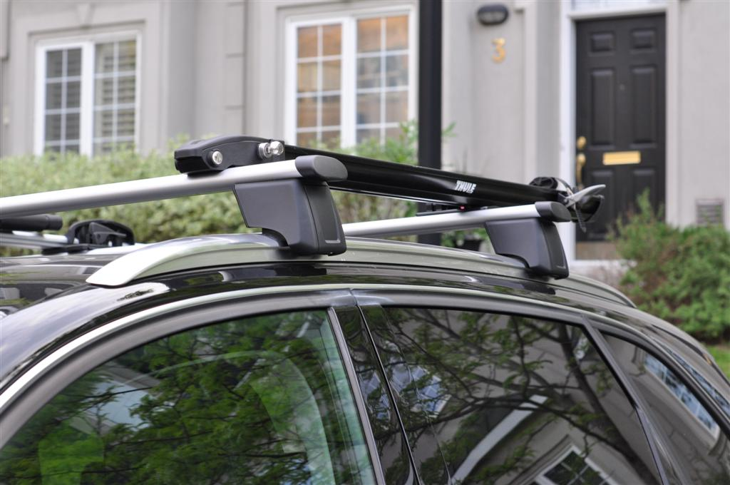 The Rails Included With Q5 Are Compatible Thule Aero Bars Here A Few Pics My Gear Attached Criterium And Peloton Bike Attachments