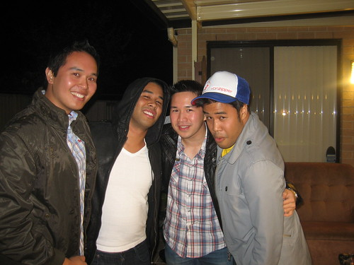 Me, Jeff, Mike and Chris at Mike's Bachelor Party