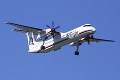 Horizon Air Bombardier Dash-8 N408QX (Flightline Aviation Media) Tags: seattle sea airplane airport aircraft aviation airline canond30 stockphoto dash8 bombardier ksea horizonair n408qx bruceleibowitz dash8401q 273070