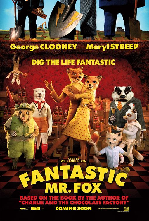 Trailer y varios carteles de 'Fantastic Mr. Fox'