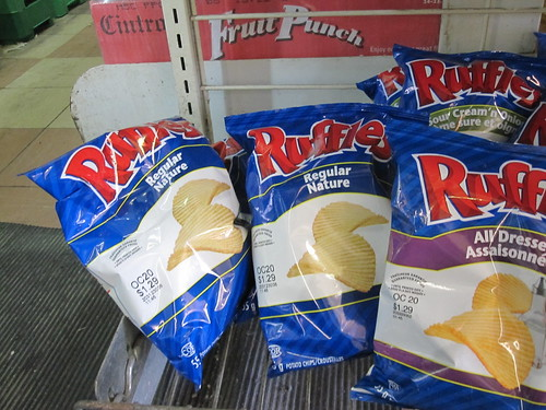 Ruffles from the corner store - $1.25