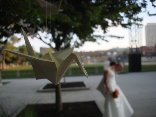 Paper Crane and the Couple