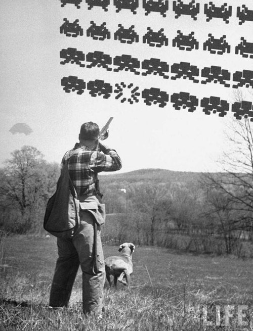 Hunting Space Invaders