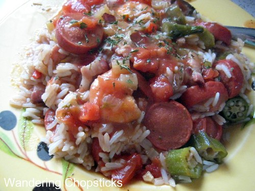 Creole Red Jambalaya with Chicken and Sausage 9
