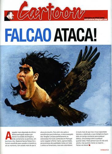 Falcao-FCPorto-Caricatura-by-Nelson-Santos