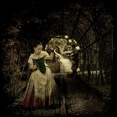Valencianeta... collaboration with Socarrat (E Dina PhotoArt) Tags: castle girl fairytale fantasy dreams imagine edina past mrchen ourtime justimagine memoriesbook awardtree miasbest miasexcellence obramaestra artandpleasure imagofabulae