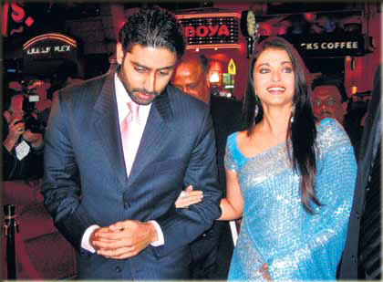 aishwarya and abhishek icon