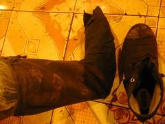 My foot (bombop) Tags: trekking vietnam pham fansipan bombop