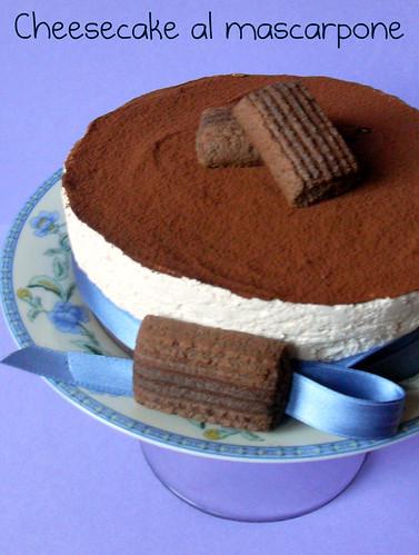 Dolci A Go Go Cheesecake Al Mascarpone