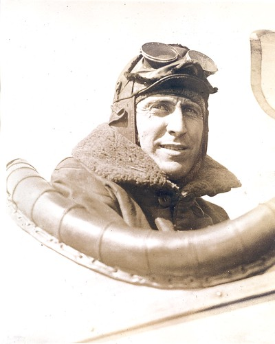 Photograph of airmail pilot William Carroll, by unknown photographer, c. 1921, Smithsonian National Postal Museum.