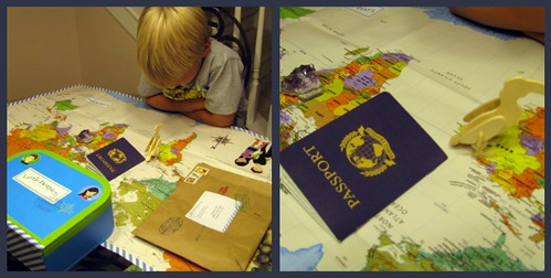 Little Passports Map Collage
