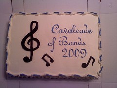 Band Competition Sheet Cake