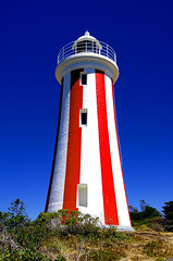 Devonport Lighthouse, stripes without stars? (msdstefan) Tags: pictures ocean trip travel blue red vacation sky sun lighthouse white holiday sol praia beach strand island coast soleil sand pacific pics stripes urlaub au himmel bank australia playa nikond50 best insel southpacific tasmania australien ufer sonne plage rtw isla zon spiaggia downunder leuchtturm nicest devonport kste streifen oceania gestreift pazifik ozean tasmanien beautifulbuilding ammeer sdpazifik    flickraward taasmania denizkys platinumheartaward fbdg theperfectphotographer flickrestrellas spiritofphotography 100commentgroup stefansbest mygearandmepremium mygearandmebronze mygearandmesilver mygearandmegold mygearandmeplatinum mygearandmediamond