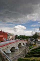 La lluvia es local (chblet) Tags: mxico puente puebla distillery nube 100 ovando cielonublado chablet