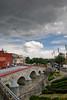 La lluvia es local (chαblet) Tags: méxico puente puebla distillery nube α100 ovando cielonublado chablet