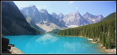 Beautiful Moraine Lake (danielkwood) Tags: lake canada alberta valley rockymountains moraine valleyofthetenpeaks cans2s