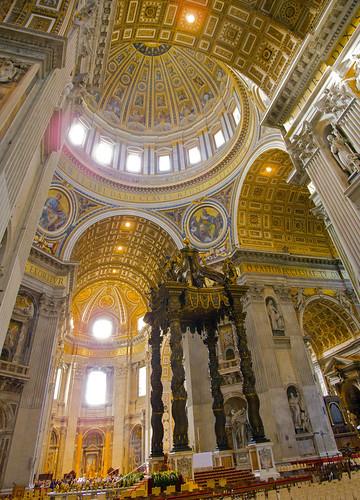 Panorama - Saint Peter's Basilica Transept