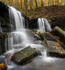 Waterfall-board Alderman (clay.wells) Tags: county autumn light pope fall nature water pool rock creek canon backboard lens landscape flow photography eos rebel waterfall big interesting october rocks stream long exposure place stitch natural you 1st outdoor clayton wells falls explore arkansas flowing usm polarizer cascade 2009 ef 1740mm circular waterscape alderman piney bigmomma f4l longpool 40d challengeyouwinner thechallengefactory thepinnaclehof tphofweek17 img268081panosh twomin