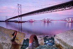 The Bridges (Surely Not) Tags: road bridge scotland nikon edinburgh long exposure angle south wide sigma rail moo forth 1020 queensferry d300 yourphototips thephotoproject
