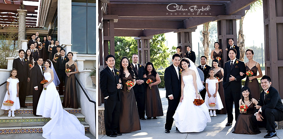 Old Ranch bridal party portrait image