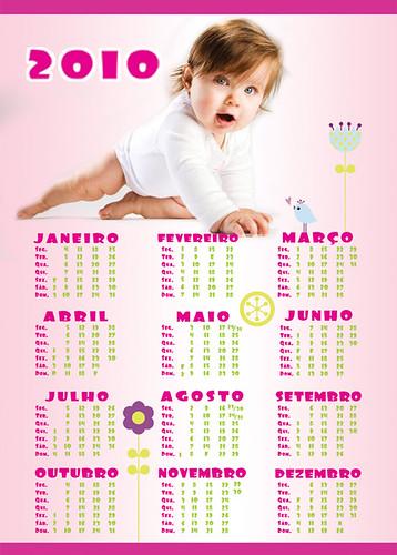 Calendario A3 tema 3