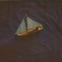 (jeffreywithtwof's) Tags: ocean blue jeff square toy boat model ship filter 600 tiny nd sail hutton expired sailaway 0108 poalroid sx70alpha1 roidweek jeffhutton integralfilm jeffhuttonphotography jeffreyhutton