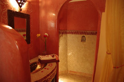 bathroom riad jona marrakech morocco