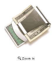 94 Stainless Steel Smart Money Clip Credit Car...