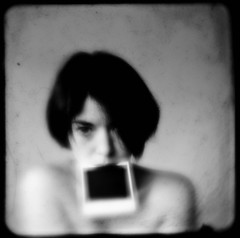 regurgitate (ladybugrock) Tags: november portrait self print polaroid portfolio 31 5x5 d300 nov7 ttv 3cameras kodakduaflex pfportraits